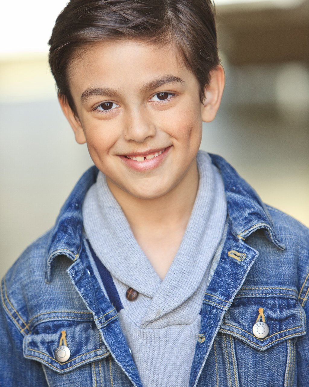 321actingschool Welcomes Young Actor Lucas Sanson 3 2 1