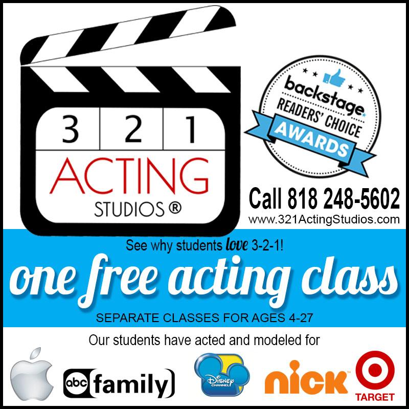 3-2-1-Acting Studios Free Class